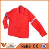 Форма работы индустрии куртки Workwear безопасности серого нефтянного месторождения лент отражательная