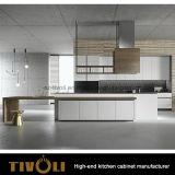 Piccolo armadio da cucina modulare di disegno moderno (AP044)