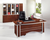 Best Selling Red Walnut Luxury CEO Manager Executive Office Table (HX-TA005)