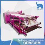 Máquina grande de la prensa del traspaso térmico de la sublimación del tinte de la talla