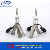 차 LED Headlamp 40W 4800lm H4 R3 LED 헤드라이트 6000k