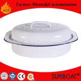 Sunboat Decklack-RösterCookware mittelgrosses ovales Chickenware