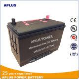 baterias de carro livres 65D31dr da manutenção 12V70ah N70 para o mercado de Malta