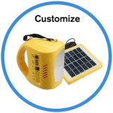 動きセンサーLEDの太陽キャンプライト