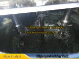 500L de alta velocidad de mezcla del tanque de líquido de alta viscosidad