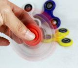 Tendencias 2017 Productos Rodamiento cerámico Fidget Spinner ABS Tri-Spinner Desk Focus Toy