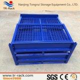 Recipiente Stackable resistente do engranzamento de fio para o armazenamento do armazém