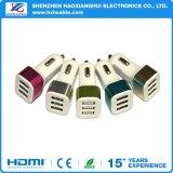 Быстрая обязанность заряжатель автомобиля USB поддержки 2/3 порта