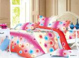 새로운 디자인 호텔 침구 고정되는 많은 침구는 침대 시트 베갯잇을 놓는다