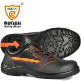 軽量の黒い安全靴のSbの標準卸売価格Sc2205