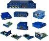 Convertitore ottico gestito a lame di media della fibra del sistema del convertitore di media