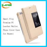 Аргументы за Huawei крышки телефона бумажника PU франтовского Flip наградное кожаный