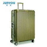 Hecho en equipaje material de la maleta de China ABS+PC