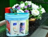 OEM Toiletries van het Handvat van de Reis van pvc van de Manier Duurzaam Duidelijk Geval