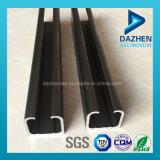 6063 aleación de aluminio perfil de la puerta del armario Ferrovía