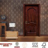 Porte en bois avant neuve à l'intérieur de la chambre à coucher (GSP2-062)