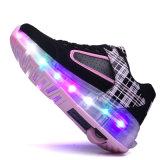 2016 Nieuw! ! Hotsale! ! Van de Hoofd schoenen van de Rolschaats van jonge geitjes de Navulbare Schoenen Opvlammende van Jonge geitjes met de Intrekbare Schoenen van de Sport van de Jonge geitjes van Wielen