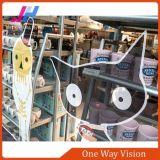 Pellicola unidirezionale di visione per lo schermo di finestra dell'automobile