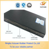 Nastro trasportatore resistente di gomma dell'abrasione di nylon