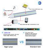 1500mm 28W Isolado Driver 160lm / W Tubo Iluminação LED
