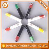 Tubos de aluminio del cigarro del metal con la insignia modificada para requisitos particulares para la venta al por mayor
