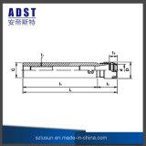 CNC CNC van de Houder van het Hulpmiddel van Assen C25-Er25um-100 Klem van de Steel van de Machine de Rechte
