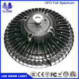 2017 신제품 높이 능률적인 가득 차있는 스펙트럼 150W UFO LED는 가벼운 Hydroponic 증가한다
