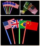 Vier de Vlag van de Gloed van het Speelgoed van de Partij van de Overwinning