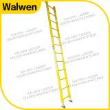 Gemaakt in Ladder van de Ladder van de Stap van de Isolatie van de Glasvezel van China de Enige Rechte