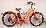 Bicicleta elétrica do pneu gordo da potência verde