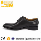 Black Full Grain Cow Leather Uniform Shoes