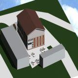 Prefab пакгауз фермы стальной структуры с самой лучшей конструкцией