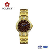 Nouveau Design All Stainless Steel Quartz Lady Watch