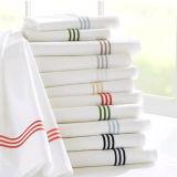 Установленная крышка одеяла постельных принадлежностей гостиницы вышитая типом домашняя (DPF1047)