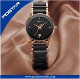El reloj de cerámica al por mayor hace su propia insignia marca de fábrica original reloj al por mayor de encargo