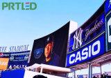 Segno esterno di costo poco costoso LED per la pubblicità di schermo gigante (P8, P10)
