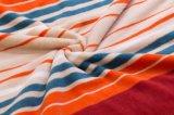 ポリエステル倍によって印刷されるフランネルの羊毛毛布の赤ん坊毛布