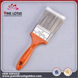 Pista material del animal doméstico de Spiralism de la alta calidad con el cepillo de pintura de madera rojo de la maneta