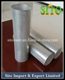 Alambre de acero inoxidable de malla del filtro cilíndrico 304 Materiales