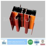 Bâti en aluminium d'impression en bois pour le guichet de glissement