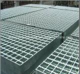 Reja soldada suelo galvanizada sumergida caliente del acero de la plataforma