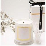 Candele quotidiane della famiglia del contenitore di regalo, candela della soia, candela