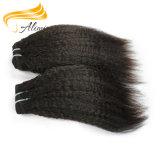 Extensions malaisiennes libres de cheveux humains de Remy d'embrouillement de vente en gros d'Alimina
