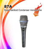 microfone Handheld vocal do condensador 87A