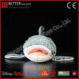 아이를 위한 현실적 박제 동물 연약한 고래상어 견면 벨벳 장난감