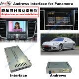 Video interfaccia dell'automobile per il PCM 3.1 Macan Caienna Panamera ecc, parte posteriore Android di percorso e della Porsche panorama 360 facoltativi