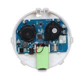 2つの方法電源が付いている独立したGSMの煙探知器