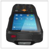 Lector de tarjetas de código de barras de mano Terminal de datos Bluetooth WiFi escáner NFC