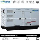 conjunto de generador de 10kVA Mitsubishi, generador diesel con el motor de Mitsubishi del tipo silencioso estupendo
