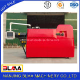 Machine automatique de redressage et de découpage de fil d'acier